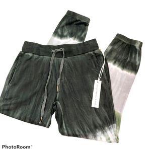 YFB Green Tie Dye Soft Joggers sz Small NWT
